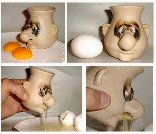 Creepy Egg Yolk Separator