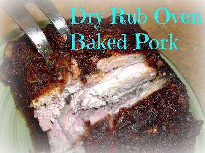 Dry Rub Oven Baked Pork by Custom Taste