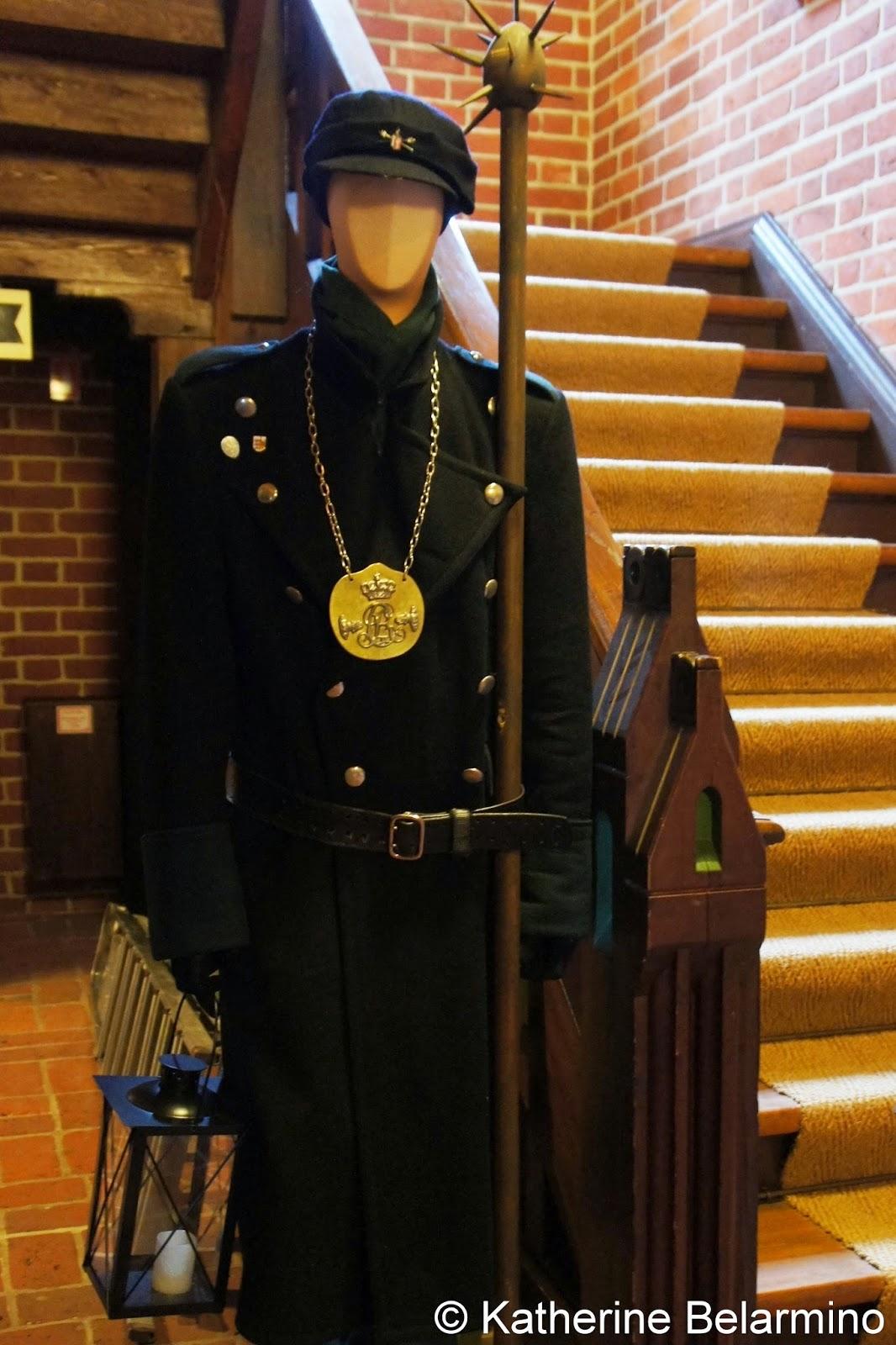 Night Watchman Uniform Den Gamle Radhus Denmark
