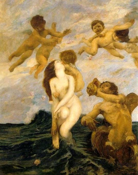 Ettore Tito, Nascita di Venere (1903)