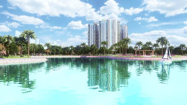 Phối cảnh dự án chung cư Eco Green City
