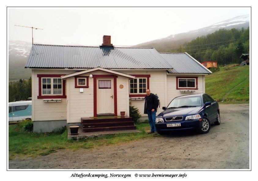 Bernie @ Altafjord Camping