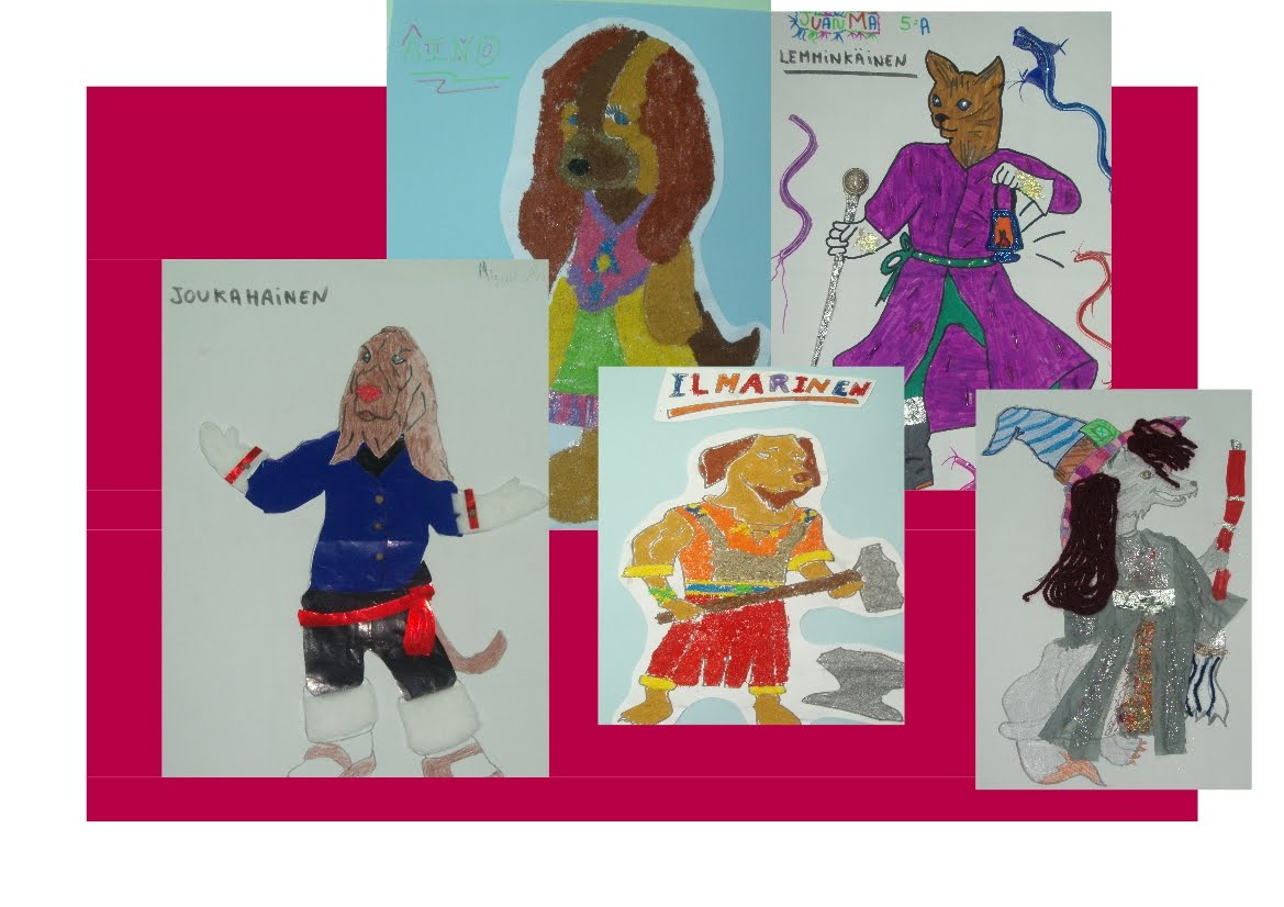 "The Magic of Books"": KALEVALA CHARACTERS BY SPANISH PUPILS"