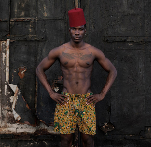 African-print  Boxer shorts by president for life