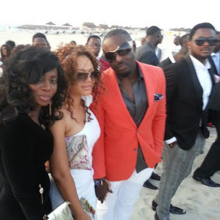 Jim Iyke at 2face's wedding
