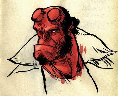 Imagen de Hellboy tipo duro