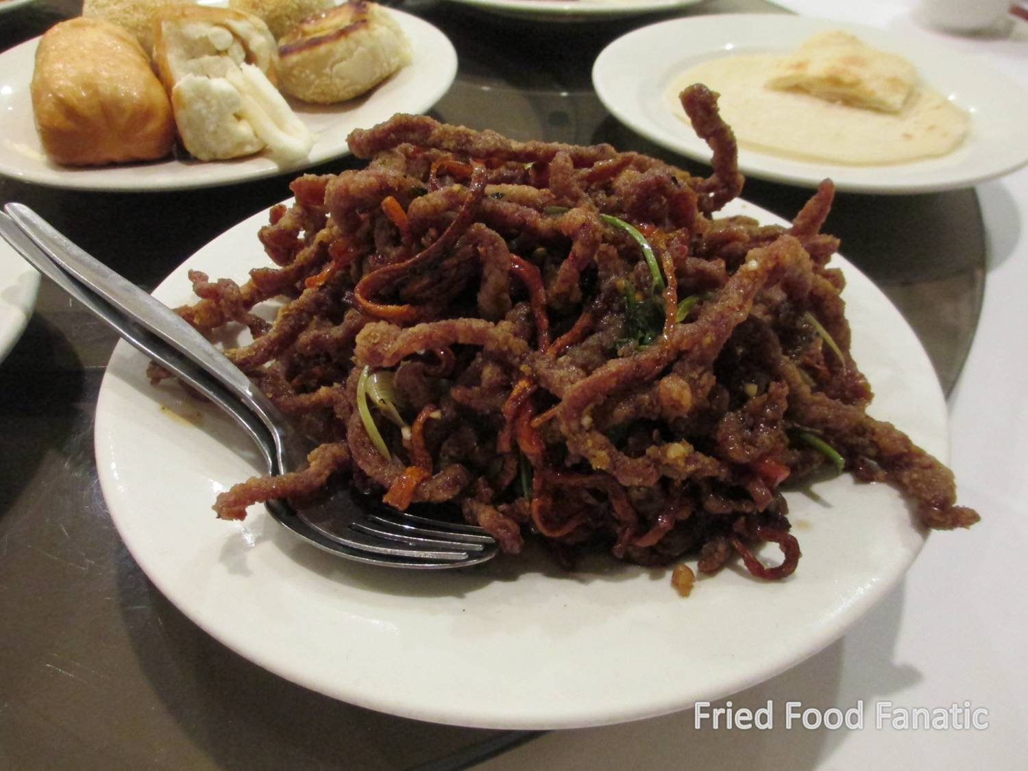 Shredded Beef Peking Style Deliciously Addictive Deep Fried Slithers Of Heavily Seasoned Beef And Carrots