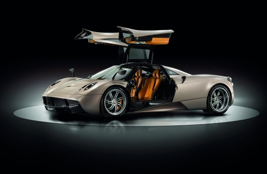 The Pagani Huayrais: