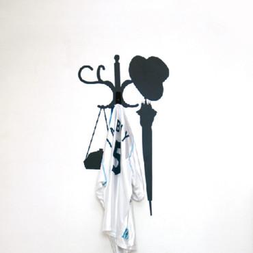 d co tableau personnaliser son int rieur chouette un porte manteau qui ne prend pas de place. Black Bedroom Furniture Sets. Home Design Ideas