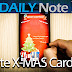 Merry X-MAS From The Daily Note II/3 (How to make a Christmas card with S Note)