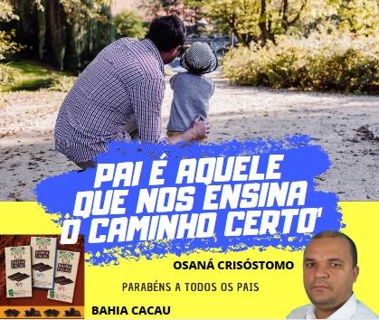 Dias dos pais Bahia Cacau