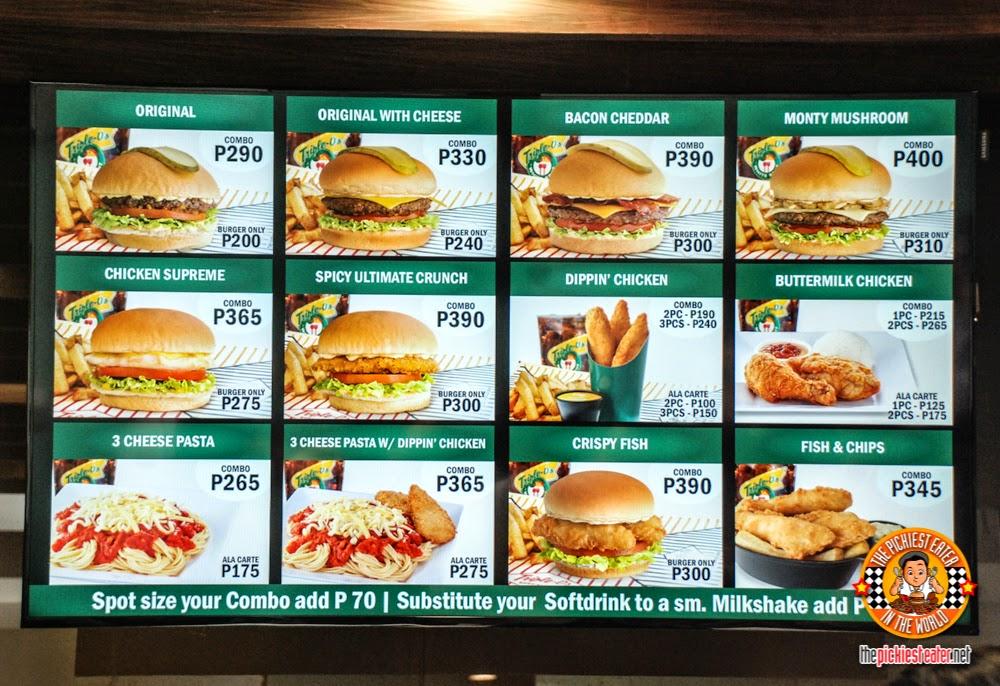triple o menu manila