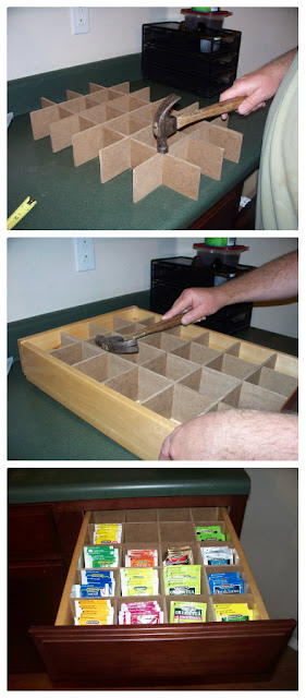 Adding A Tea Drawer To My Kitchen