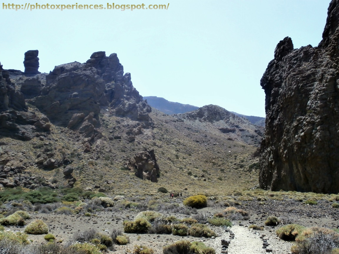 La Ruleta y cumbres de Ucanca al fondo