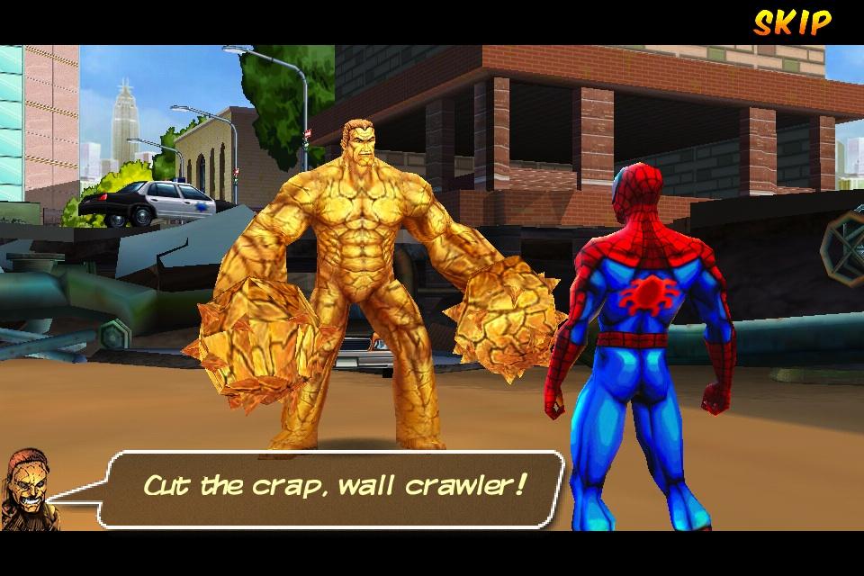 Spider-Man Total Mayhem Android Hvga (480x320) Apk + Sd Files Data ...