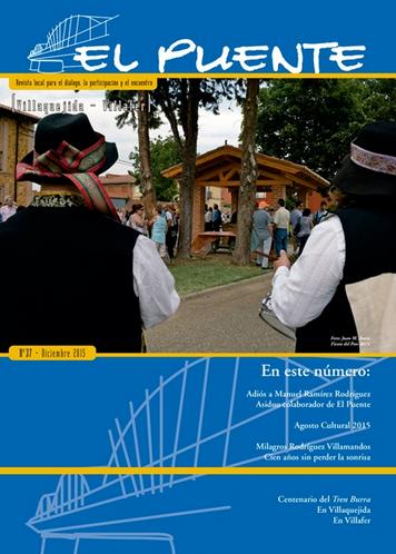 """""""EL PUENTE"""" Revista Cultural Nº37... con mi aportación"""