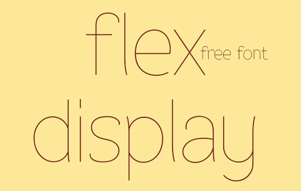 A Collection of 23 Amazing and Free Fonts from Behance