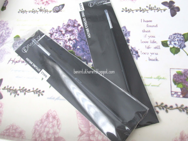 Flormar Nailr Art Fırçaları (Eyeliner Çekmek İçin)