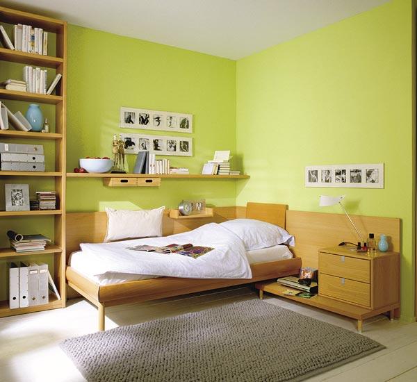 A Urbanística Sem medo de errar Quartos coloridos ~ Verde No Quarto