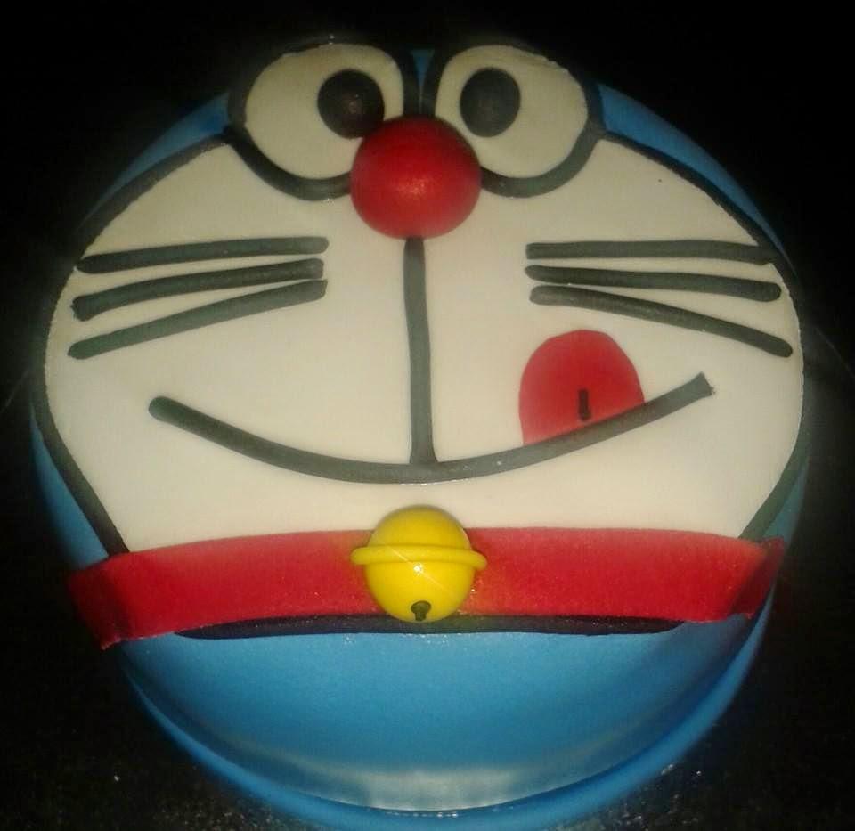 Tarta de Doraemon