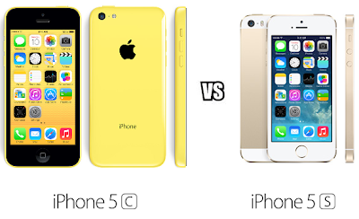 iPhone 5C VS iPhone 5S