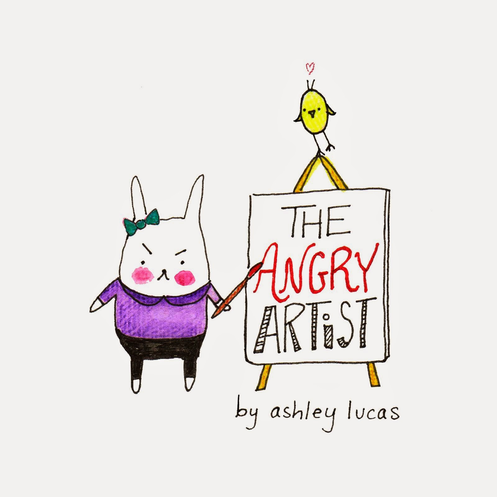 The Angry Artist by Lady Lucas