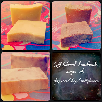 buy handmade artisan soaps by Molly Lenore on Etsy