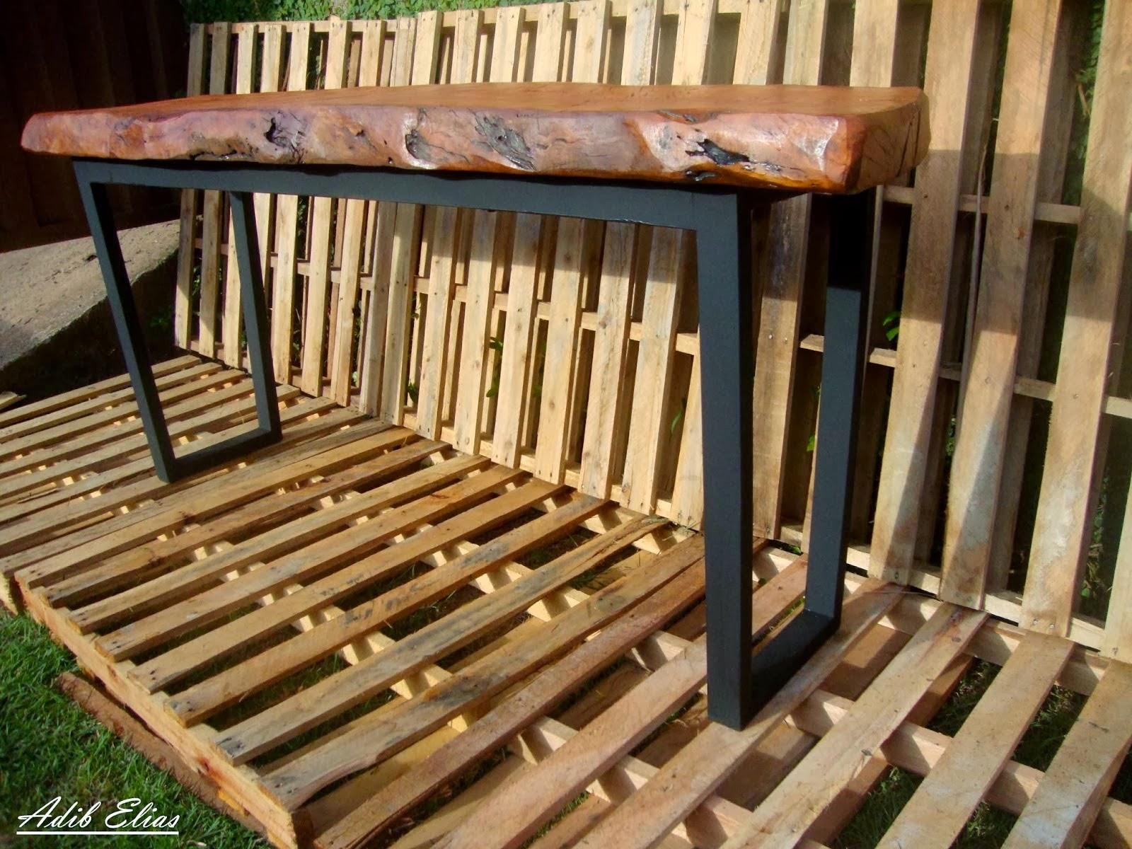 Aparador de madeira reciclada com base de pés de máquina de costura  #A67325 1600x1200