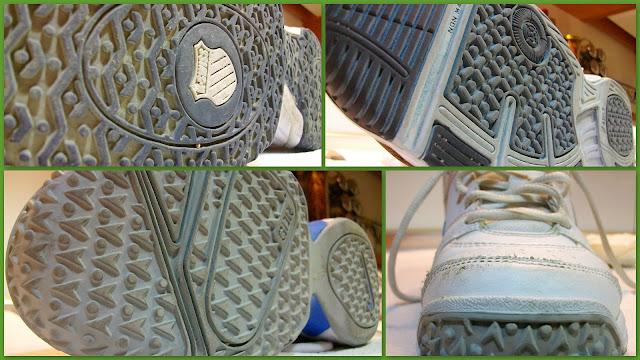 Suela de zapatillas de pádel