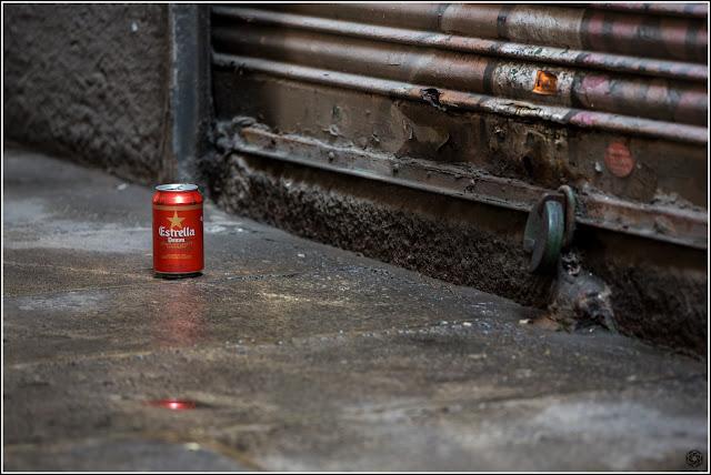 Montjuïc del Bisbe, Barcelona: Estrella abandonada