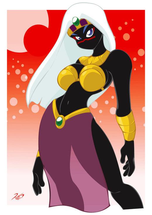 Queen Tyr'ahnee por RickCelis