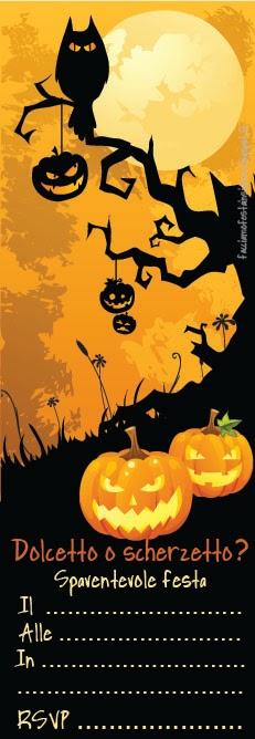 Invito Halloween