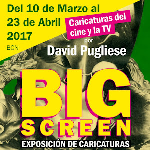 BIG SCREEN : Exposición de caricaturas de David Pugliese
