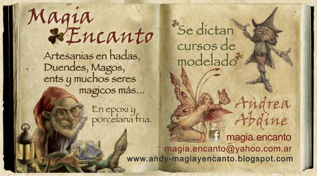 BIENVENIDO AL MUNDO DE MAGIA Y ENCANTO