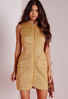 https://www.missguided.co.uk/new-in/zip-front-shift-dress-yellow-textured-yellow