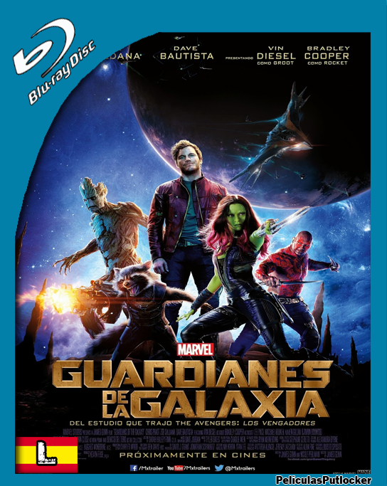 Guardianes De La Galaxia [BrRip 720p][Latino][SD-MG-1F]