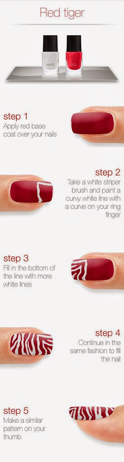 Ladies Nails Arts Tutorials...