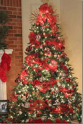 Imagenes de pinos de navidad adornados - Imagenes de arboles de navidad decorados ...