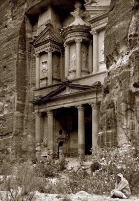 Fotografía antigua de Petra