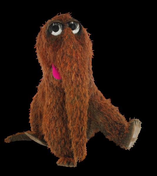 Sesame street characters snuffleupagus