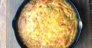 real food simplefajita frittata