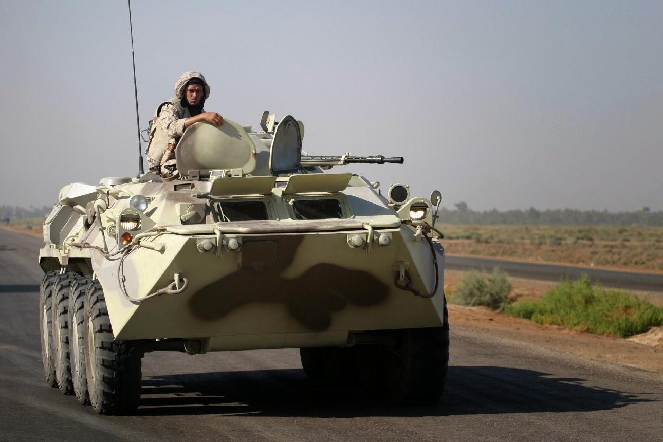 Ірак. БТР-80