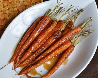 Bourbon-Glazed Roasted Carrots