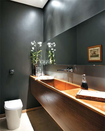 decoracao no lavabo:Casa com Moda : LAVABO COM MUITO ESTILO