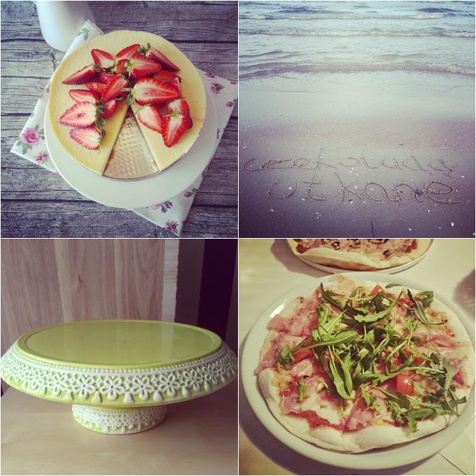 zielona patera, czekoladą utkane, sernik bez sera, pizza włoska