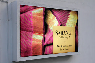 Sarangi sign board on www.thekeybunch.com