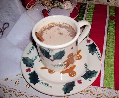 Cup of Cinnamon Cappuccino
