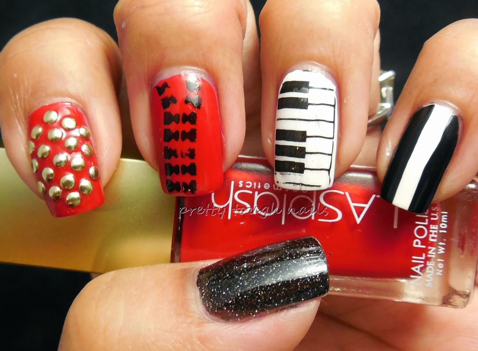 Prettytoughnails 31dc2013 inspired by a song michael 31dc2013 inspired by a song michael jacksons beat it prinsesfo Gallery