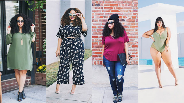 musas plus size instagram @gabifresh