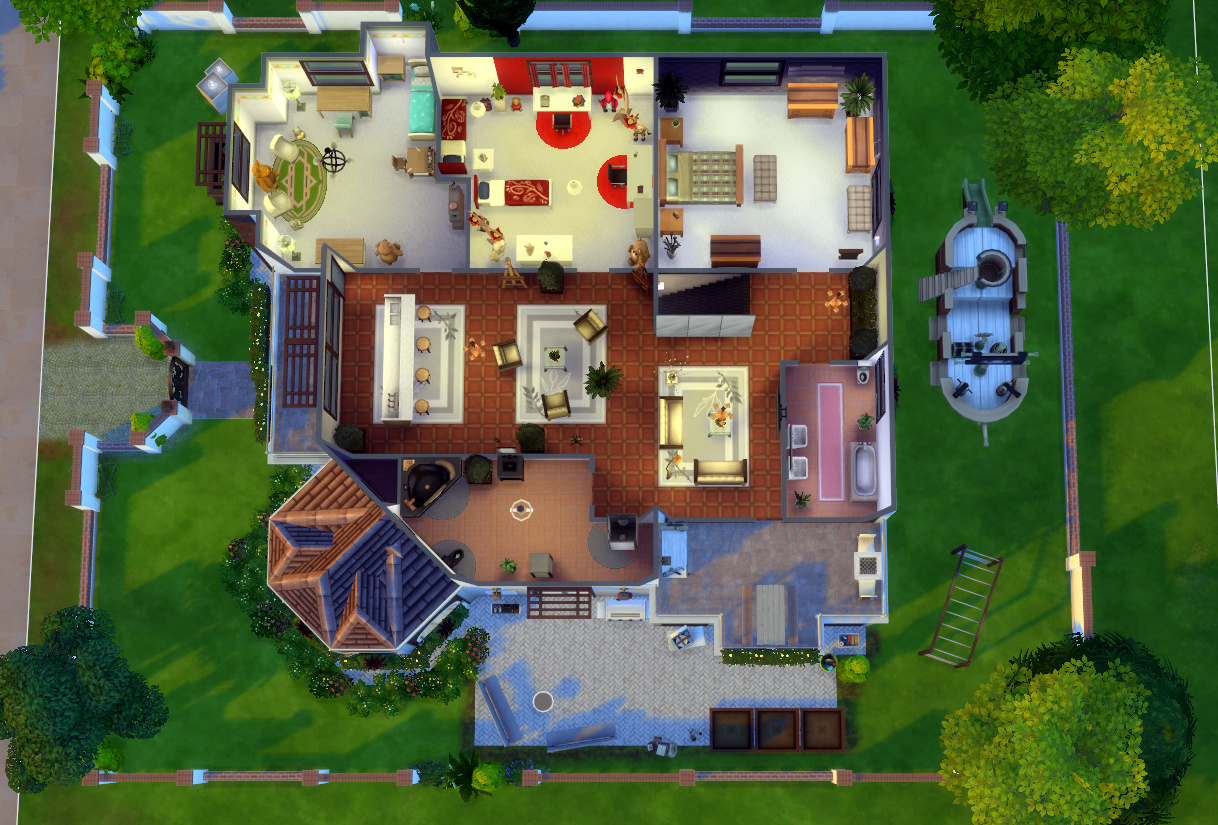 This article dream home palace read more for Mansion floor plans sims 4
